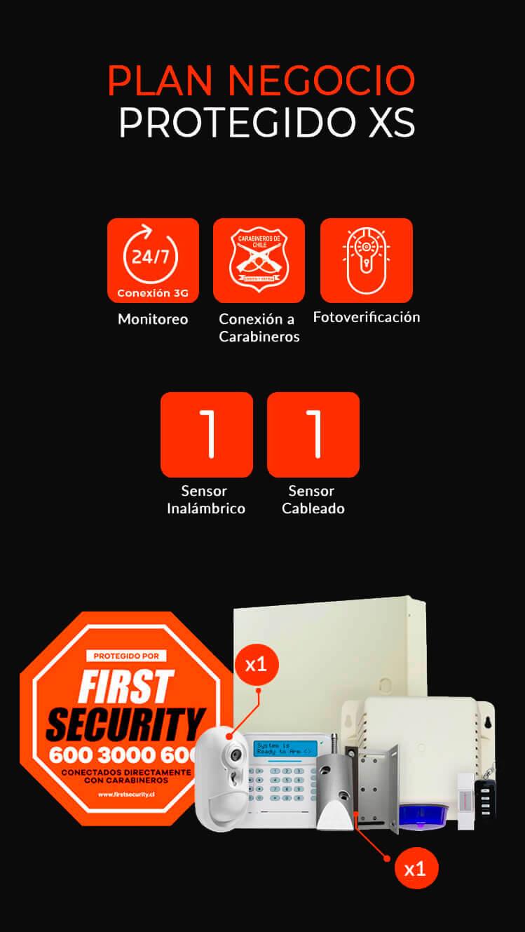 alarmas negocio xs first security